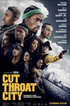 Poster Cut Throat City