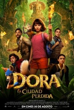 Poster Dora y la Ciudad Perdida