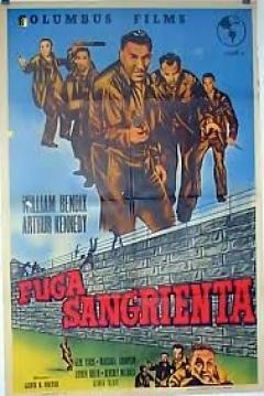 Poster Fuga Sangrienta