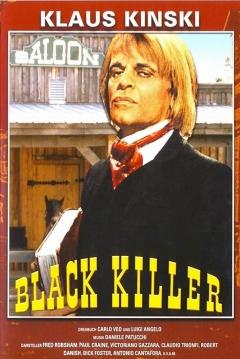Poster El Pistolero de Negro
