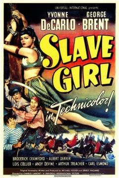 Poster La Esclava del Desierto