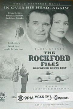 Poster Los Nuevos Casos de Rockford: El Padrino lo Sabe Todo