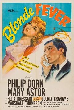 Poster Blonde Fever