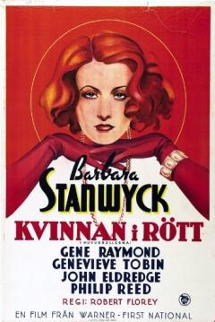 Poster La Vestida de Rojo