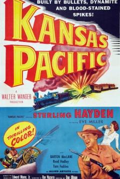 Poster Kansas Pacific