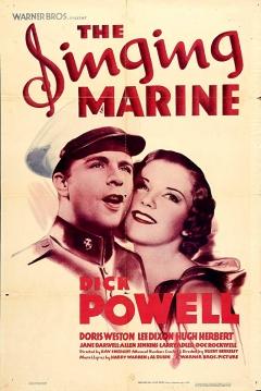 Poster The Singing Marine