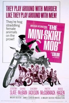 Poster The Mini-Skirt Mob