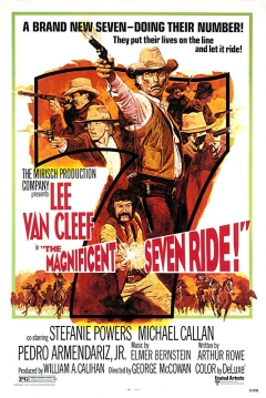 Poster The Magnificent Seven Ride!