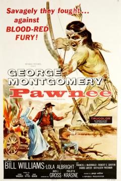 Poster La tribu de los Pawnee
