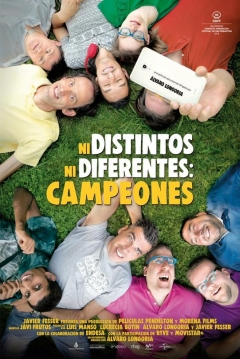 Poster Ni Distintos ni Diferentes: Campeones