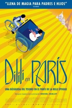 Poster Dilili in Paris