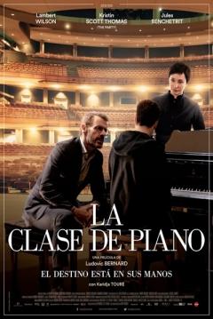 Poster La clase de piano