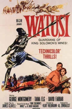 Poster Regreso a las Minas del Rey Salomón