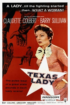Poster Texas Lady