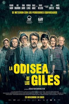 Poster La Odisea de los Giles