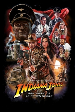 Poster Indiana Jones And The Sanctuary Of The Black Order