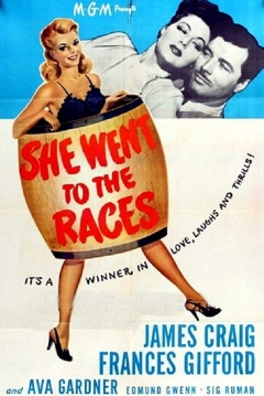 Poster She Went To The Races