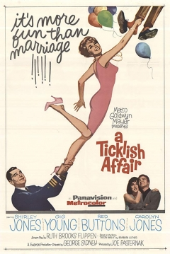 Poster A Ticklish Affair