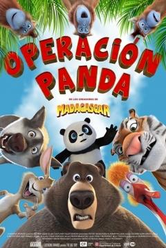Poster Operación Panda