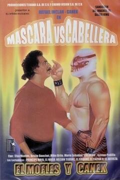 Poster Mofles y Canek en Máscara vs. Cabellera