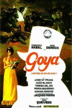 Poster Goya, Historia de una Soledad