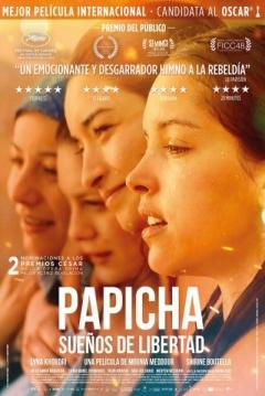 Poster Papicha, Sueños de Libertad
