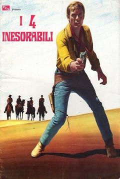 Poster Los cuatro Implacables