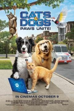 Poster Como Perros y Gatos 3: ¡Todos a Una!