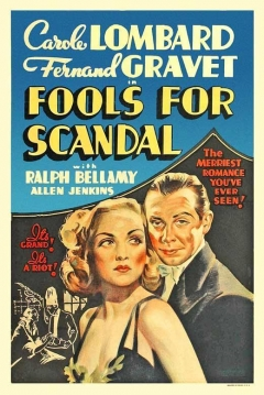 Poster Fools For Scandal