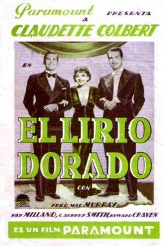 Poster El Lirio Dorado