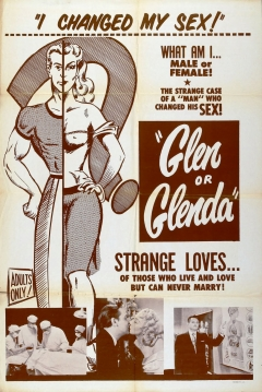 Poster Glen o Glenda