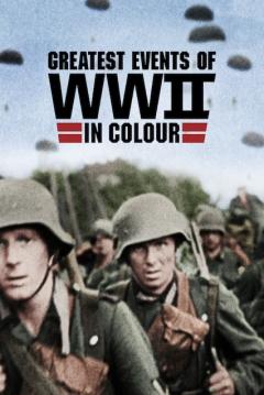 Poster Grandes Acontecimientos de la II Guerra Mundial en Color