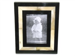 Pictures are precious memories, why not frame them in a wonderful horn frame.