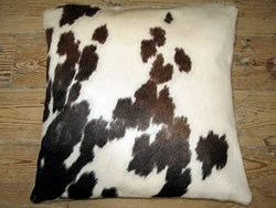 Natural hide cushions to add a little luxury to your life.