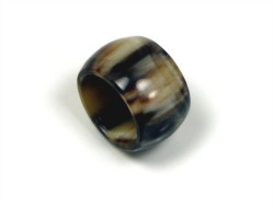 A small but hardwearing gift, horn rings are ideal for the man who loves jewellery.