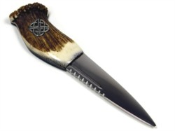 A traditional scottish blade, ideal for the lover of all things across the border.