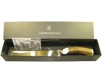 Stag Antler Handle Bread Knife