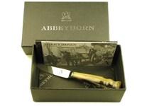 Ox Horn Thistle End Dinky / Butter Knife - Thistle End