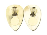 Earring - Oval - Laminated
