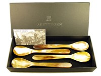 Box of Four Horn Porridge Spoon