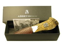 Stag Antler Handle Sgian Dubh With Celtic Cross