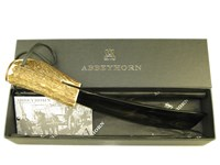 Long Stag Antler Handle Horn Shoehorn