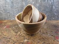 Sheesham Wood French/Nibble Bowl