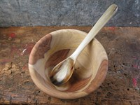 Sheesham Wood French/Nibble Bowl