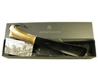 Shoehorn With Stag Handle