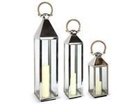 Small Tall Venetian Glass Lantern