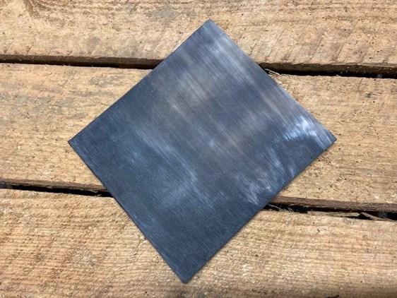 Flat Horn Plate - Sanded - Single