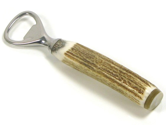 Bottle Opener - Stag Antler