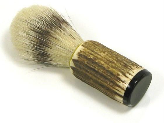 Shaving Brush - Pure Bristle - Stag