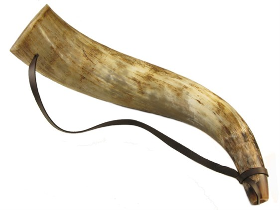 Large Cow Horn Bugle Horn